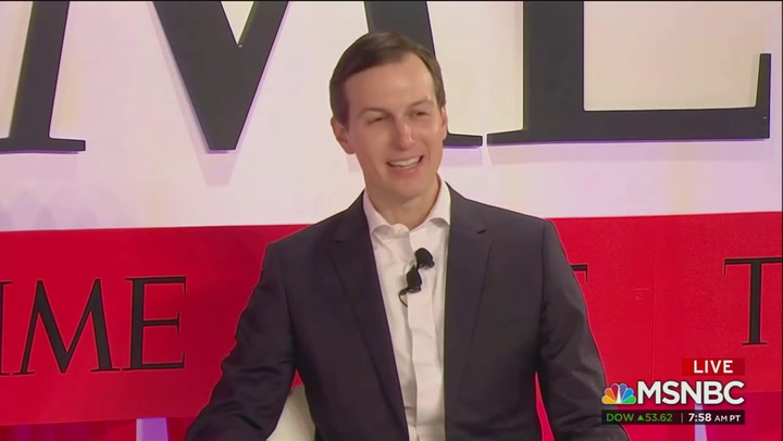 "Jared Kushner says Russian collusion accusations are ""nonsense"""