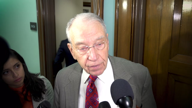 Grassley on Facebook: 'can't promise a hearing at this point'