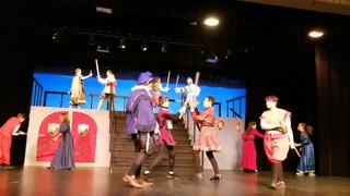 Ellsworth students perform Romeo and Juliet