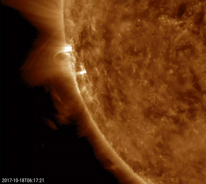 The Sun Just Burped Plasma and Here's Why