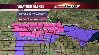 StormTRACKER Forecast: Blizzard Warning Tomorrow!