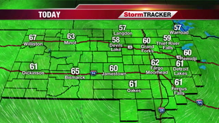 Friday Forecast: Sunny & Mild, Cool Down Coming