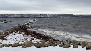 Big Waves on Lake Pepin