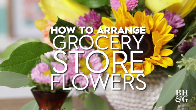 Grocery Store Bouquet Hacks