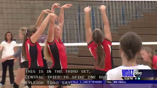 Devils Lake defeats Central in EDC volleyball action