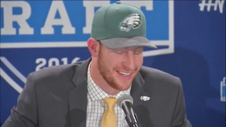 WATCH Carson Wentz's press conference following NFL Draft pick by Eagles