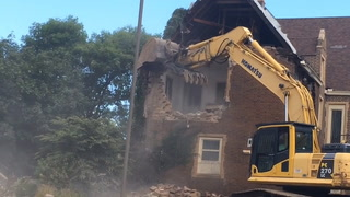 Holy Family rectory demolition