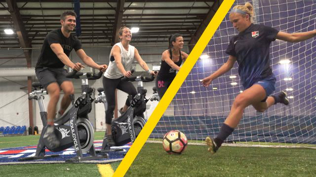 SoulCycle Instructors Try to Keep Up With the National Women's Soccer League