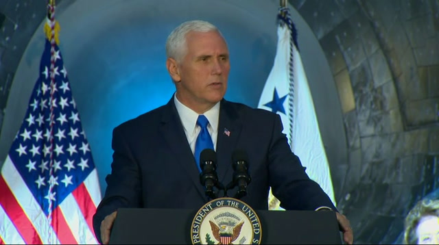 Pence: America Will Lead in Space Again