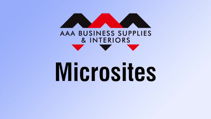 Microsites | shop.AAAsolutions.com