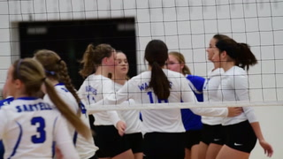 Brainerd Warrior Volleyball Defeats Sartell