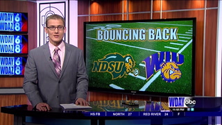Bison bounce back against Western Illinois