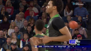 Gonzaga survives overtime scare against UND