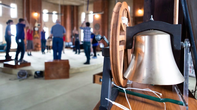 Scenes from the District's bell ringing competition