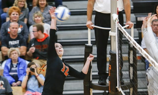 Prep Volleyball: Morris/C-A vs BOLD