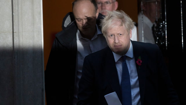 Boris Johnson plans to table a new bill for December election after losing Parliament vote