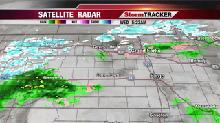 Rain/Snow Today, Turning Cooler