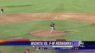 RedHawks rally comes up short in loss in Wichita