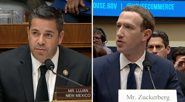 Zuckerberg grilled on non-Facebook users' data