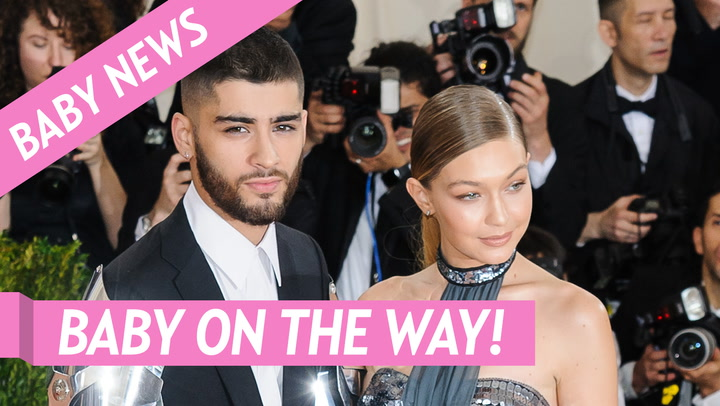 Gigi Hadid's Dad Mohamed Covers Her Baby Bump in Rare Pic