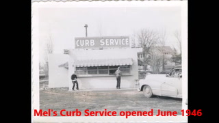 Mel's Curb Service opened in June 1946 on south end of Spicer and just a block from Green Lake. The carhops worked past midnight waiting on  customers coming from the nearby Drive-in Theater.