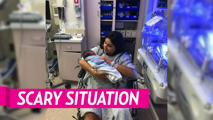 Mercedes 'MJ' Javid's Husband Tommy Feight Shares Photo of Wife in ICU After Giving Birth: 'She Is a Warrior'