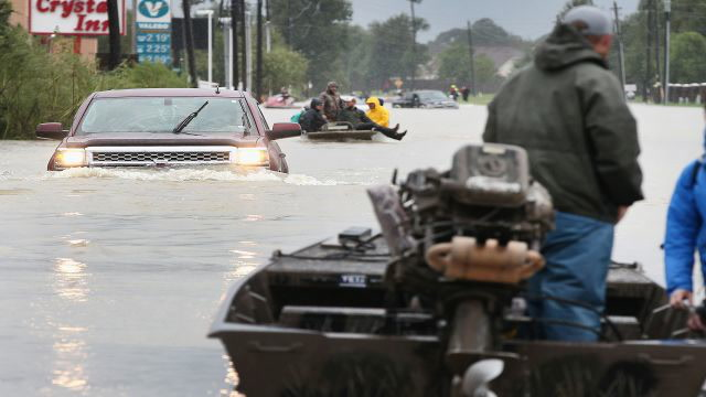 Calls for Help After Hurricane Harvey