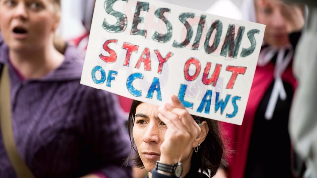 Why the Trump administration is suing California over immigration