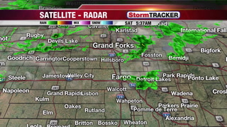 Tracking Morning Showers