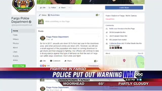 Fargo police hope to crack down on fights in dowtown Fargo