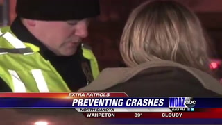 Extra patrols in ND to prevent drunk driving