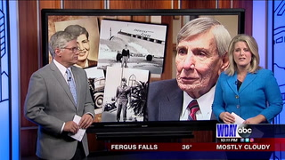Fargo man recalls his life of flight, and flying for the CIA