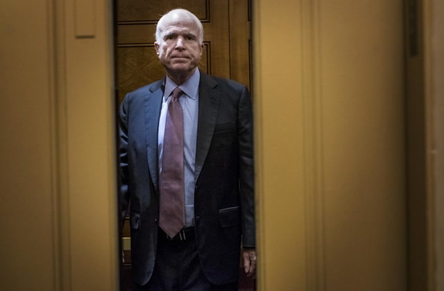 McCain diagnosed with brain cancer