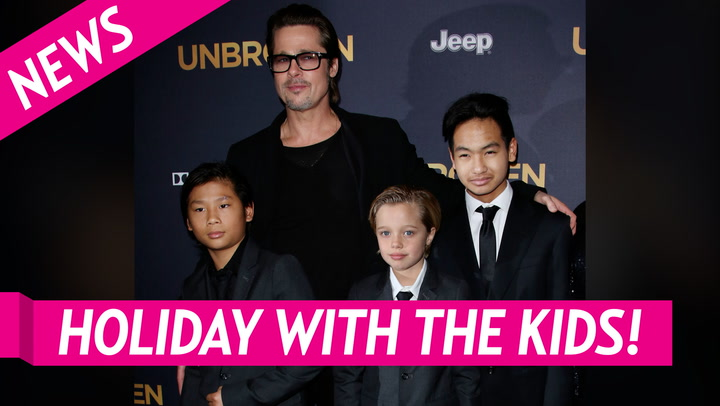 Brad Pitt Is Spending Christmas With Daughter Shiloh and Twins Knox and Vivienne Amid Angelina Jolie Custody Battle