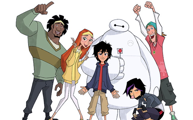 Disney To Introduce New Show Big Hero 6 The Series With TV Movie