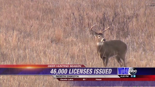 46,000 ND deer gun licenses issued