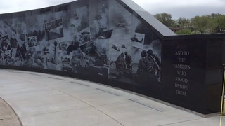Explanation of the new Veterans Memorial Wall in Cloquet