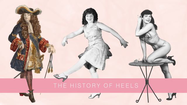 The Surprising History of High Heels