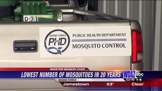 Skeeter Meter: Mosquito Control crews report some of town's 'lowest trap counts'
