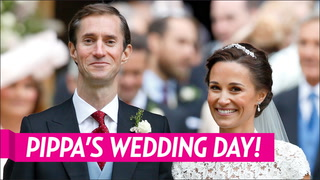 Pippa S Wedding.Prince Harry And Meghan Markle Attend Pippa Middleton S Wedding Reception Together