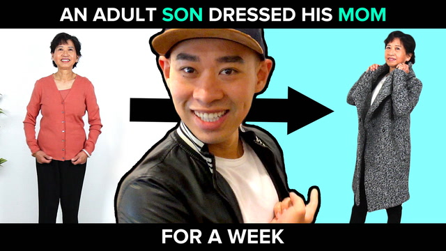 An Adult Son Dresses His Mom For A Week
