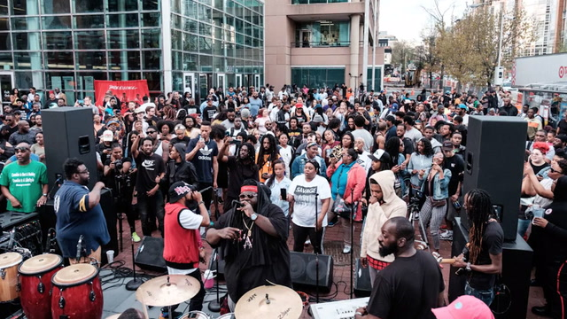 Go-go music returns to Shaw's Metro PCS store after #DontMuteDC protests