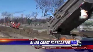 National Weather Service Predicts Less Flooding For Grafton