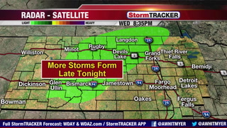 Tracking Storms West & North Tonight