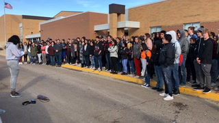 Worthington marks National School Walkout