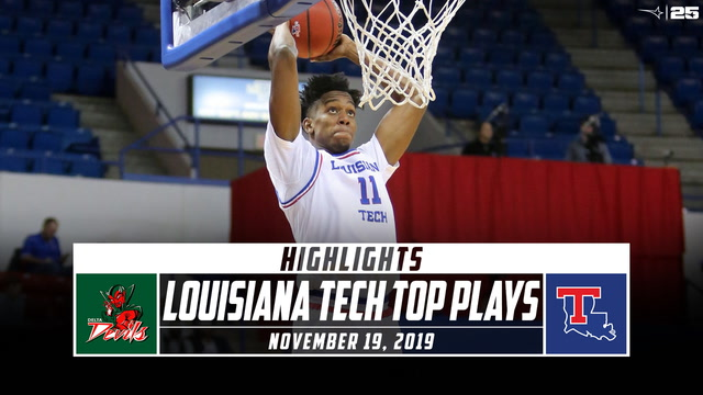 Louisiana Tech Basketball Top Plays vs. Mississippi Valley State (2019-20)