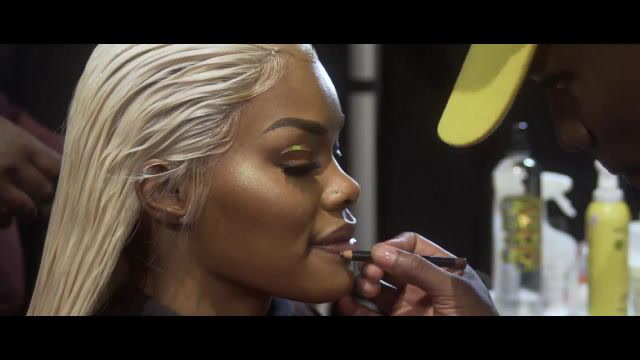 Teyana Taylor Getting Ready for The Blonds | NYFW Spring 2018