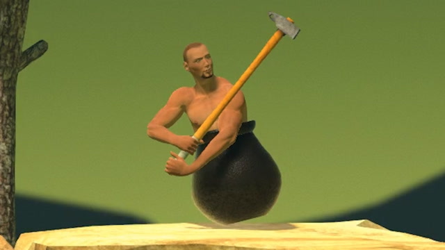 Getting Over It Finished In Under 2 Minutes (Speedrun)