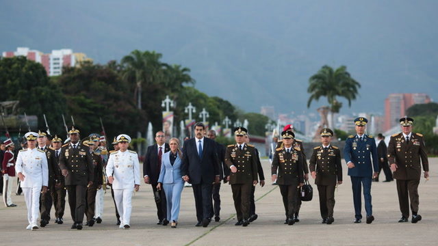 The fate of Nicolás Maduro is being discussed in Barbados