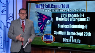 WDAY Fall Camp Tour: Park Christian Falcons 2017 Preview